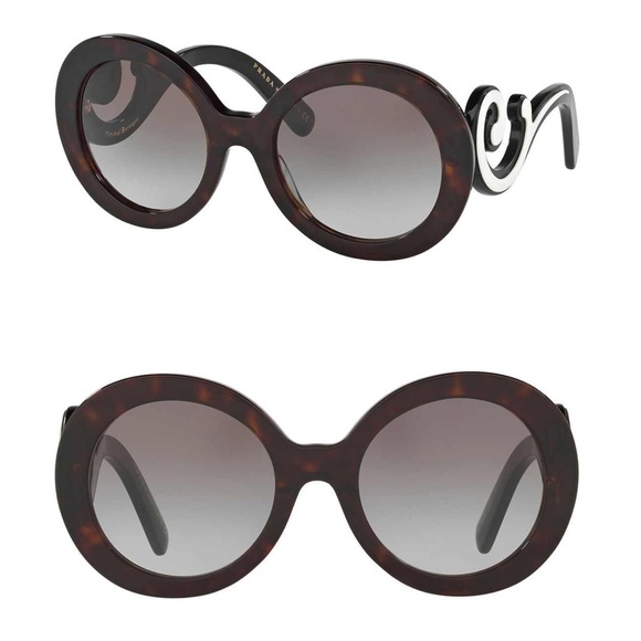 7f8420e09628 NEW Prada Minimal Baroque Sunglasses